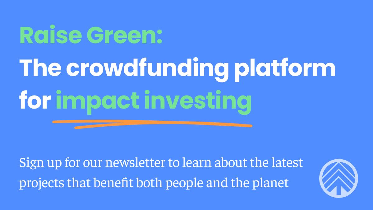 Raise Green Newsletter CTA